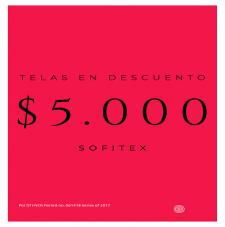 Ofertas Telas en promoción $5.000